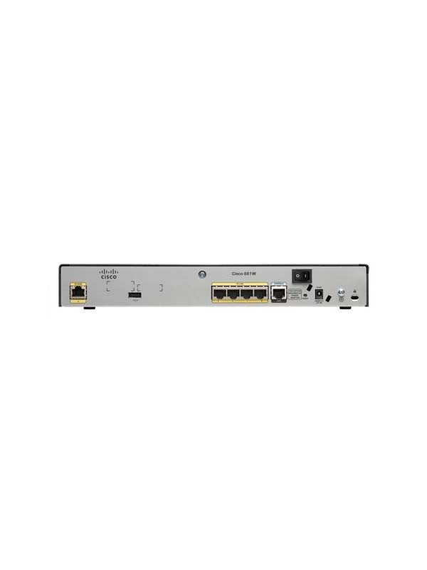 Cisco 880 Series Integrated Services Routers - C881-K9