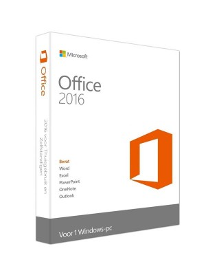 Microsoft Office Home and Business 2016 FPP License