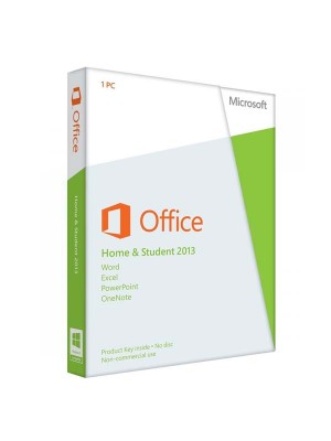 Microsoft Office Home and Student 2013 FPP License