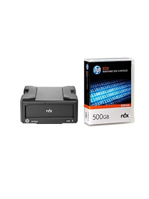 HP RDX500 USB3.0 Ext Disk Backup System