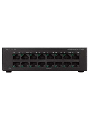 Cisco 100 Series Unmanaged Switches SF100D-16P