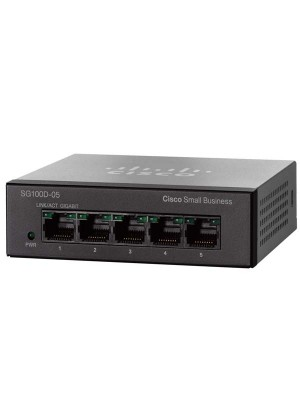Cisco 100 Series Unmanaged Switches SG100D-05